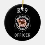 K9 Police Ornaments
