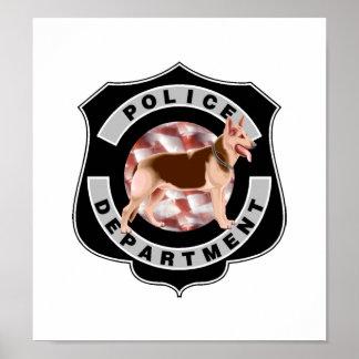 K9 Police Poster