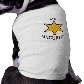 k9 security shirt