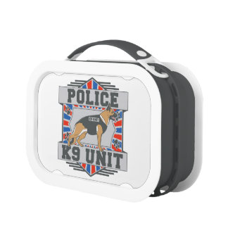K9 Unit Police German Shepherd Yubo Lunchbox