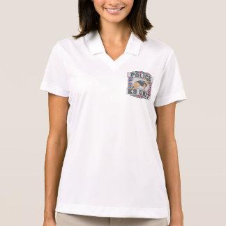 K9 Unit Police German Shepherd Polo T-shirts