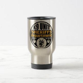 K9 Unit Sheriff's Department Travel Mug