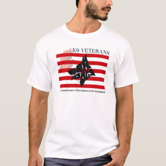 K9 Veterans Remembrance Day T-Shirts