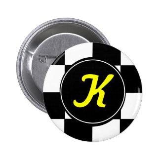 K 6 CM ROUND BADGE