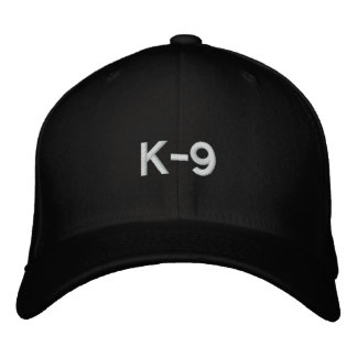 K-9 EMBROIDERED HAT
