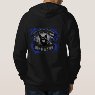 K-9 Unit - Jaws of Justice Hoodie