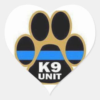 K-9 unit stickers