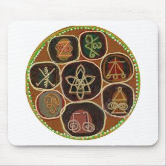 K A R U N A    Reiki  Emblem Mouse Pad