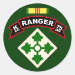 K Co, 75th Infantry Regiment - Rangers, Vietnam Stickers
