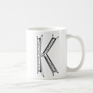 """K"" COFFEE MUG"