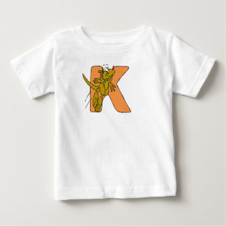 K for Kangaroo baby's T-shirt