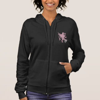 K. Griffin Women's Sleeveless Zip Hoodie