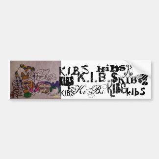 K.I.B.S Mushroom Sticker Bumper Sticker