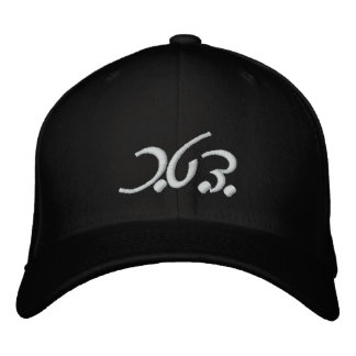 K.I.D. (Modern Hebrew) Fitted Hat Embroidered Hats