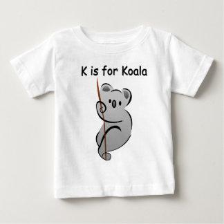 K is for Koala Baby T-Shirt