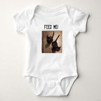 K&J Feed Me! Baby Bodysuit