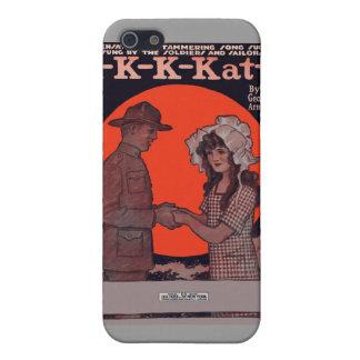 K-K-K-Katy Vintage Sheet Music iPhone 4 Case