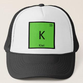 K - Kiwi Fruit Chemistry Periodic Table Symbol Trucker Hat
