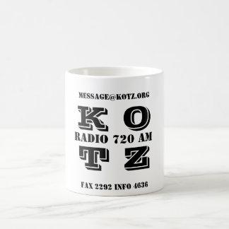 K O T Z, RADIO 720 AM, FAX 2292 INFO 4636, MESS... BASIC WHITE MUG
