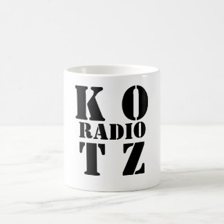 K OT Z, RADIO BASIC WHITE MUG