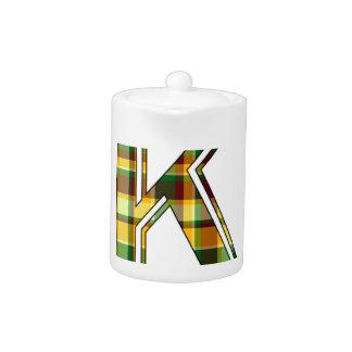K plaid initial