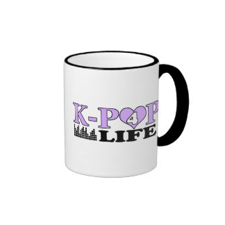 K-POP 4 LIFE RINGER MUG