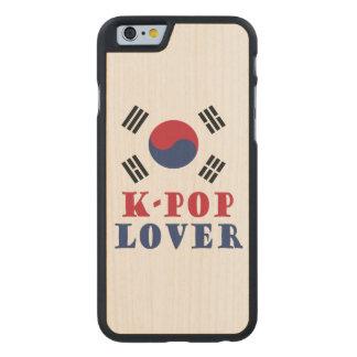 K-Pop Lover Iphone Wood Case
