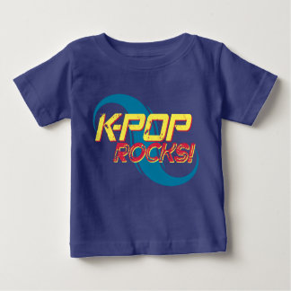 K-Pop Rocks!  (Light) Baby T-Shirt