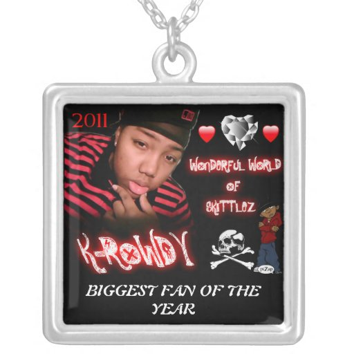K-ROWDY BIGGEST FAN OF THE YEAR NECKLACE