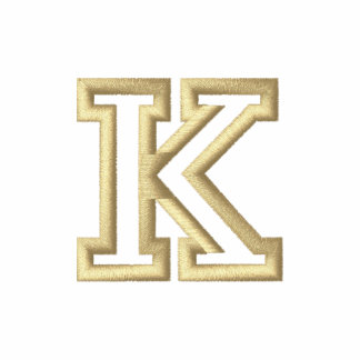 """""""K"""" Small Athletic Letter"""