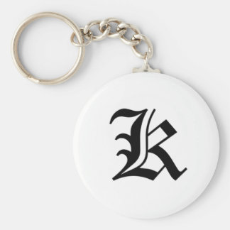 K-text Old English Key Chains