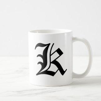 K-text Old English Mugs