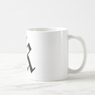 K-text Old English Coffee Mugs