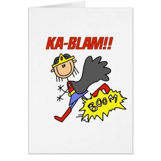 Ka Blam Girl Hero Card