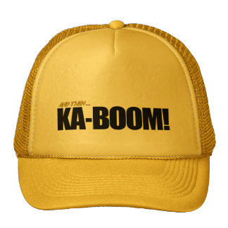 KA-BOOM! Yellow Cap