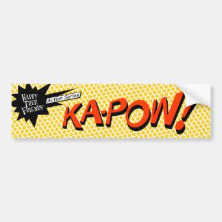 KA-POW! sticker Bumper Stickers