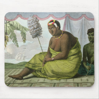 Ka'ahumanu, Queen of the Sandwich Islands Mouse Pad