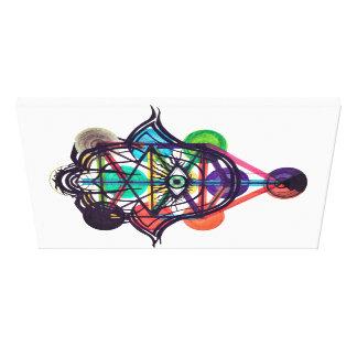 Kabbalistic Tree of Life Canvas Print