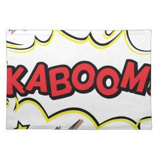 kaboom placemat