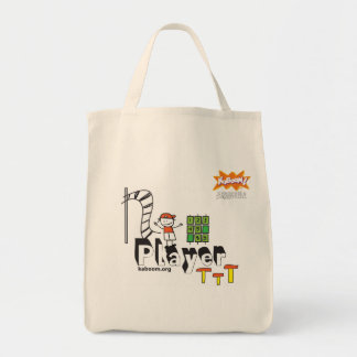 KaBOOM! Player Grocery Tote Bag