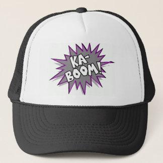 kaboom! trucker hat