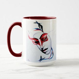 Kabuki and the Geisha cup