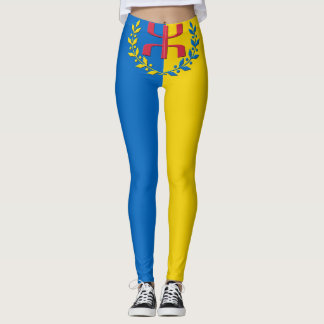 Kabylian flag leggings