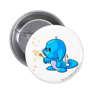 Kacheek Blue 6 Cm Round Badge