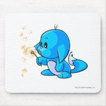 Kacheek Blue mouse pads