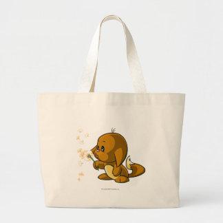 Kacheek Brown Jumbo Tote Bag