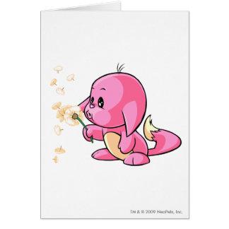 Kacheek Pink Greeting Card