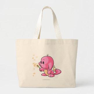 Kacheek Pink Jumbo Tote Bag