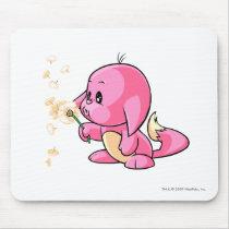 Kacheek Pink mouse pads