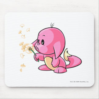 Kacheek Pink Mouse Pad